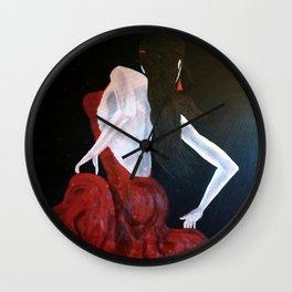 Enlightened Beauty Wall Clock