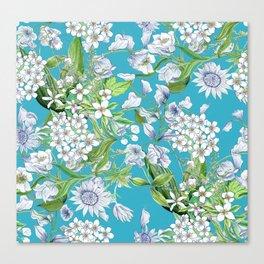 Royal Wedding Flowers, Meghan Markle's Bouquet Canvas Print
