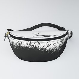 Seagulls Flying over Sand Dunes Fanny Pack