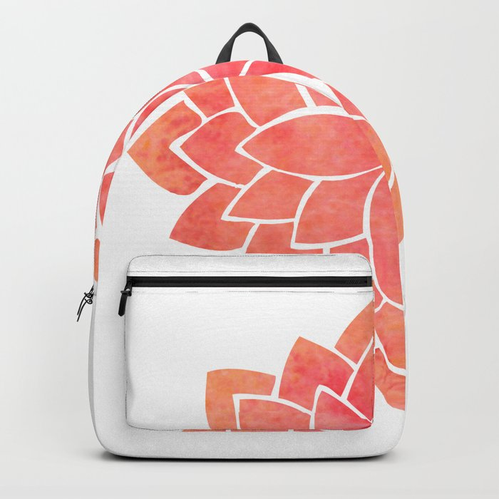 Salmon Mandala Backpack