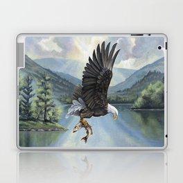 Eagle with Fish Laptop & iPad Skin