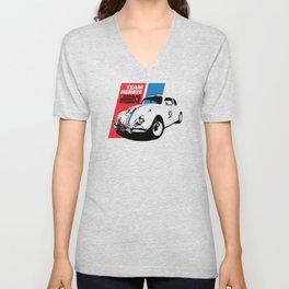 Team Herbie - Love Bug Unisex V-Neck