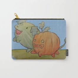 Watermelon dog and pumpkin pup Carry-All Pouch
