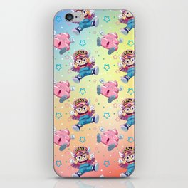 Arale's Pattern iPhone Skin