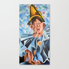 Not Clowning But Frowning Canvas Print
