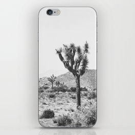 Joshua Tree Monochrome, No. 1 iPhone Skin