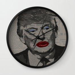 Transgender president Wall Clock