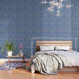 Indigo blues Wallpaper