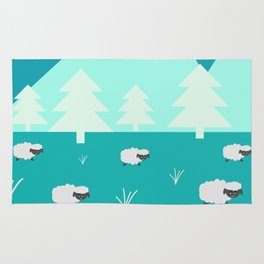 Grazing sheep Rug