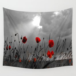 Only poppies... Wall Tapestry