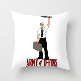 Army of D-FENS Throw Pillow