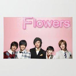 Boys over flowers Rug