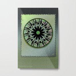 Bamboo Textures Metal Print