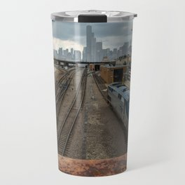 Traveling to Chicago Travel Mug