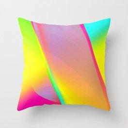 Rainbow series I Throw Pillow