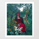 The Woman of Wands by healingtarot