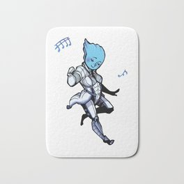 Mass Effect Liara Dance Bath Mat