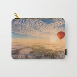 Floating Sunrise Carry-All Pouch