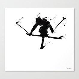 Ski jumper Canvas Print