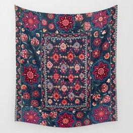 Lakai Suzani Shakhrisyabz Uzbek Embroidery Print Wall Tapestry