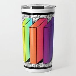 Memphis Style shaded Travel Mug