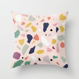 Big Terrazzo Throw Pillow