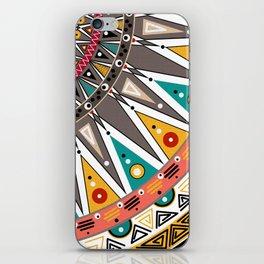 #Ethnic #tribal ornament iPhone Skin