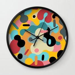 blobs 007 Wall Clock