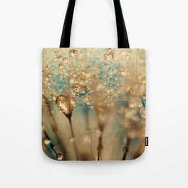 dandelion gold Tote Bag