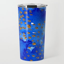 gold snow I Travel Mug