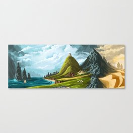 An Ancient Land Canvas Print