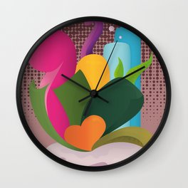 Coeur  Wall Clock