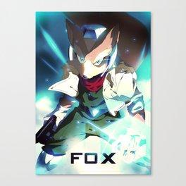 Melee   Fox Canvas Print