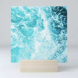 Perfect Sea Waves Mini Art Print