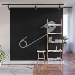 Safety Pin Wall Mural