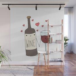 Wine Lovers Wall Mural