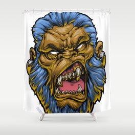 MeanMuggin Denominator Shower Curtain