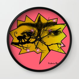 FRIDA AMOR Wall Clock