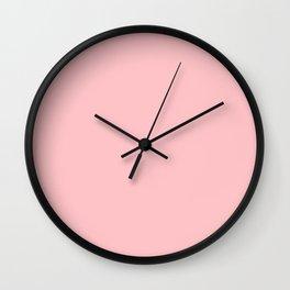 Crystal Rose Wall Clock