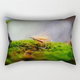 tan fly Rectangular Pillow
