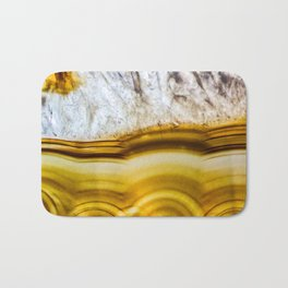 Amber Honey Agate Earth Bath Mat