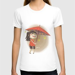 umbrella star T-shirt