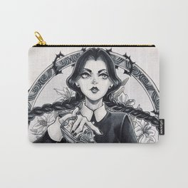 Miss Wednesday Addams Carry-All Pouch