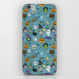 Spooky Doodles iPhone Skin