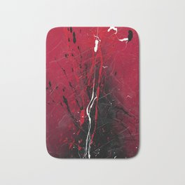 Rising - abstract painting by Rasko Bath Mat