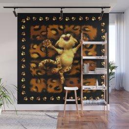 Happy Kitty Wall Mural