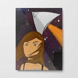 Esmae and Titania / A Spark of White Fire art Metal Print