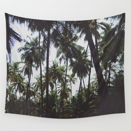 FOREST - PALM - TREES - NATURE - LANDSCAPE - PHOTOGRAPHY Wall Tapestry