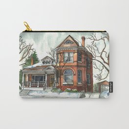 Victorian House in The Avenues Carry-All Pouch