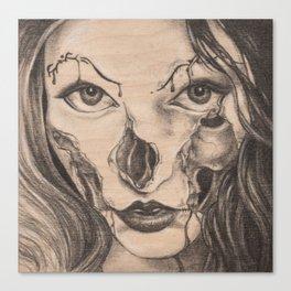 Girl Anachronism Canvas Print